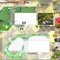 Koncepcja zagospodarowania ogrodu Śrem