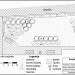 Projekt ogrodu we Wrześni
