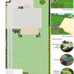 Września - ogród z hortensjami