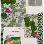 Projekt ogródka przy szeregowcu