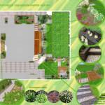 Ogród z podkładów kolejowych