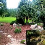 Ogród pod Środą ścieżka z łupka